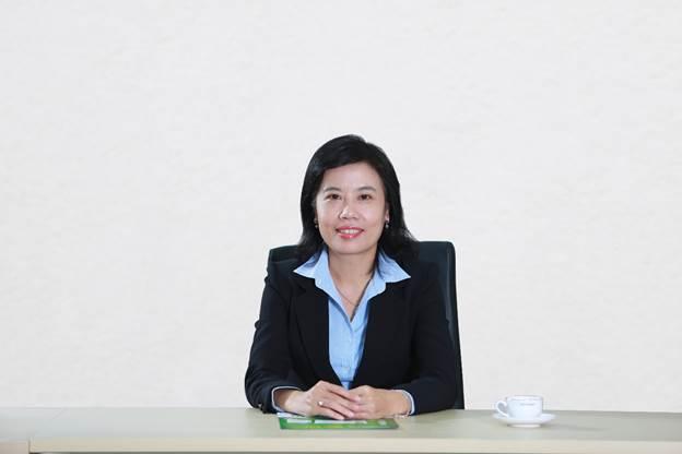 Bà Nguyễn Ngọc Diệp – Phó Tổng Giám Đốc Phụ Trách Sản Xuất và Chuỗi cung ứng của Dược Hậu Giang.