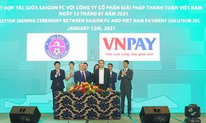 VNPAY cung cấp cho SaiGon FC hệ thống bán vé trực tuyến