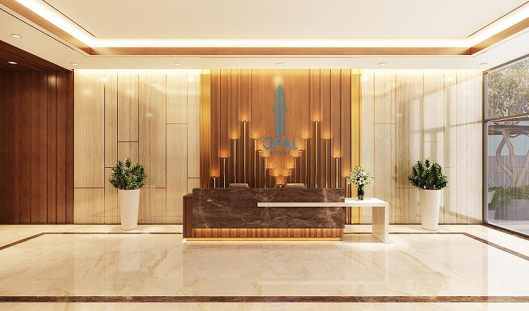 Là sản phẩm đến từ sự hợp tác của hai tập đoàn lớn trên thị trường, Opal Skyline hứa hẹn thỏa mãn nhu cầu của những khách hàng khắt khe. Ảnh phối cảnh: Tập đoàn Đất Xanh.