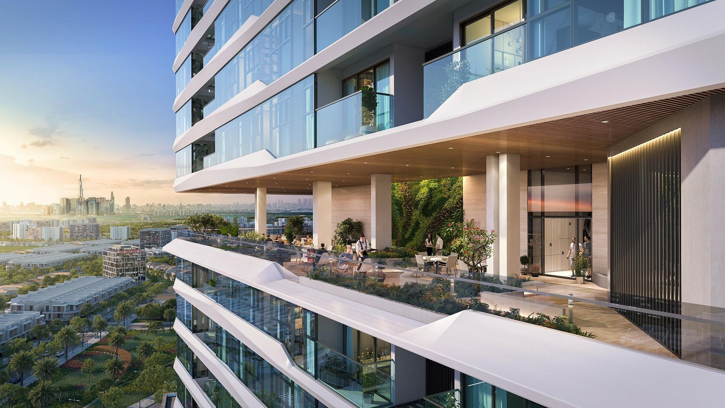 Những căn hộ tùy biến thiết kế của King Crown Infinity thu hút giới thượng lưu. Ảnh phối cảnh: BCG Land.