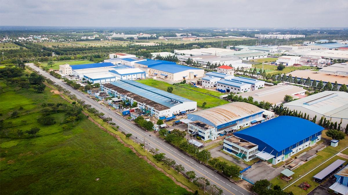 Bất động sản công nghiệp nằm trong nhóm ngành hứa hẹn M&A sôi động năm 2021. Ảnh: Becamex.