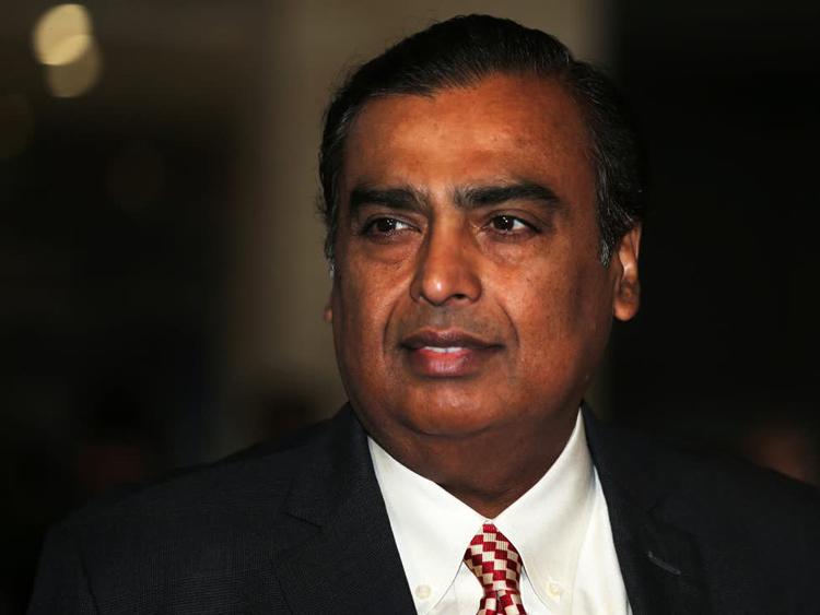 Tỷ phú Mukesh Ambani. Ảnh: Reuters.