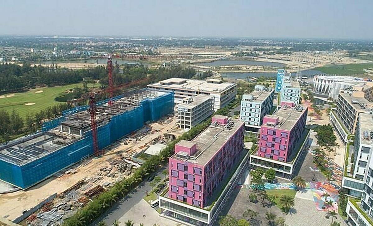 Một dự án condotel tại Đà Nẵng. Ảnh: Cocobay.