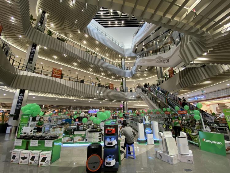 Một gian hàng tại Aeon Mall Hà Đông.