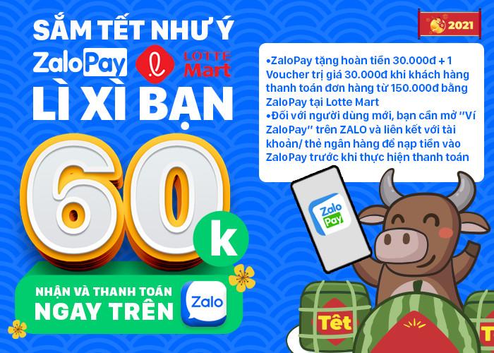 Lotte Mart hợp tác ZaloPay, đẩy mạnh thanh toán không tiền mặt - 1