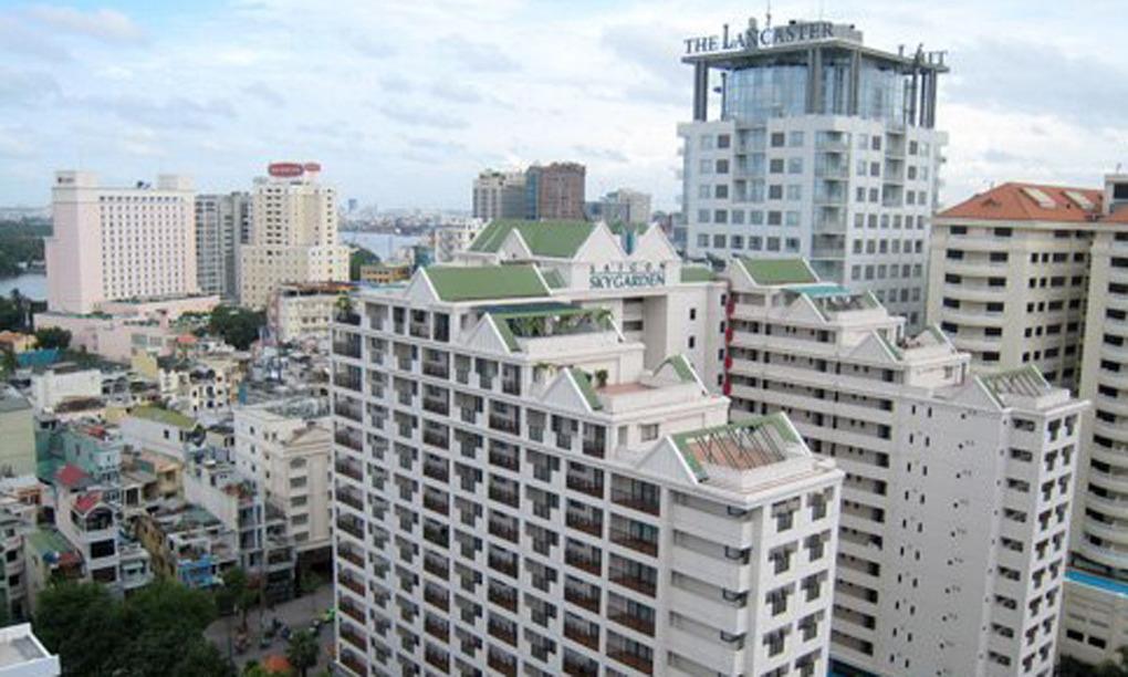 Thị trường khách sạn ở trung tâm TP HCM. Ảnh: Vũ Lê.