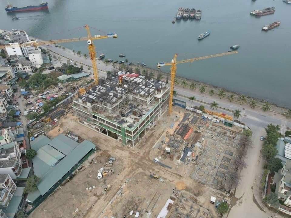Green Diamond Halong sở hữu vị trí đắc địa tại thành phố di sản. Ảnh: Công ty CP Đầu tư và Phát triển Nhà số 6 Hạ Long.