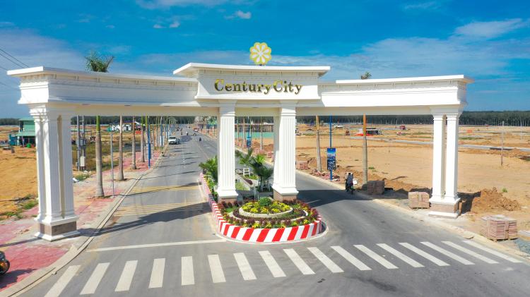 Cổng chào dự án Century City.