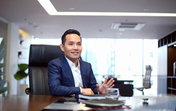 Ông Nguyễn Bá Sáng - Chủ tịch HĐQT Tập đoàn bất động sản An Gia.