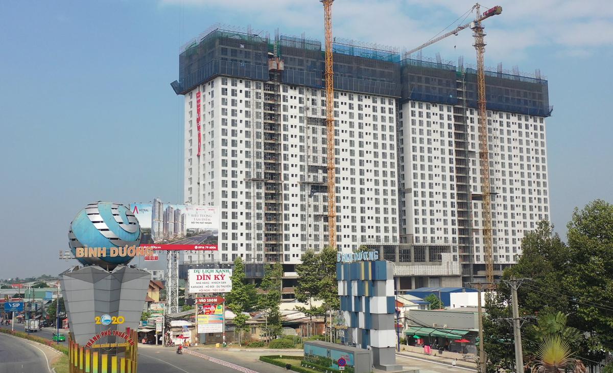 Thị trường căn hộ Thuận An, Bình Dương. Ảnh: Vũ Lê.