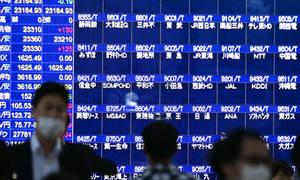 Chứng khoán Nhật Bản lên đỉnh 30 năm