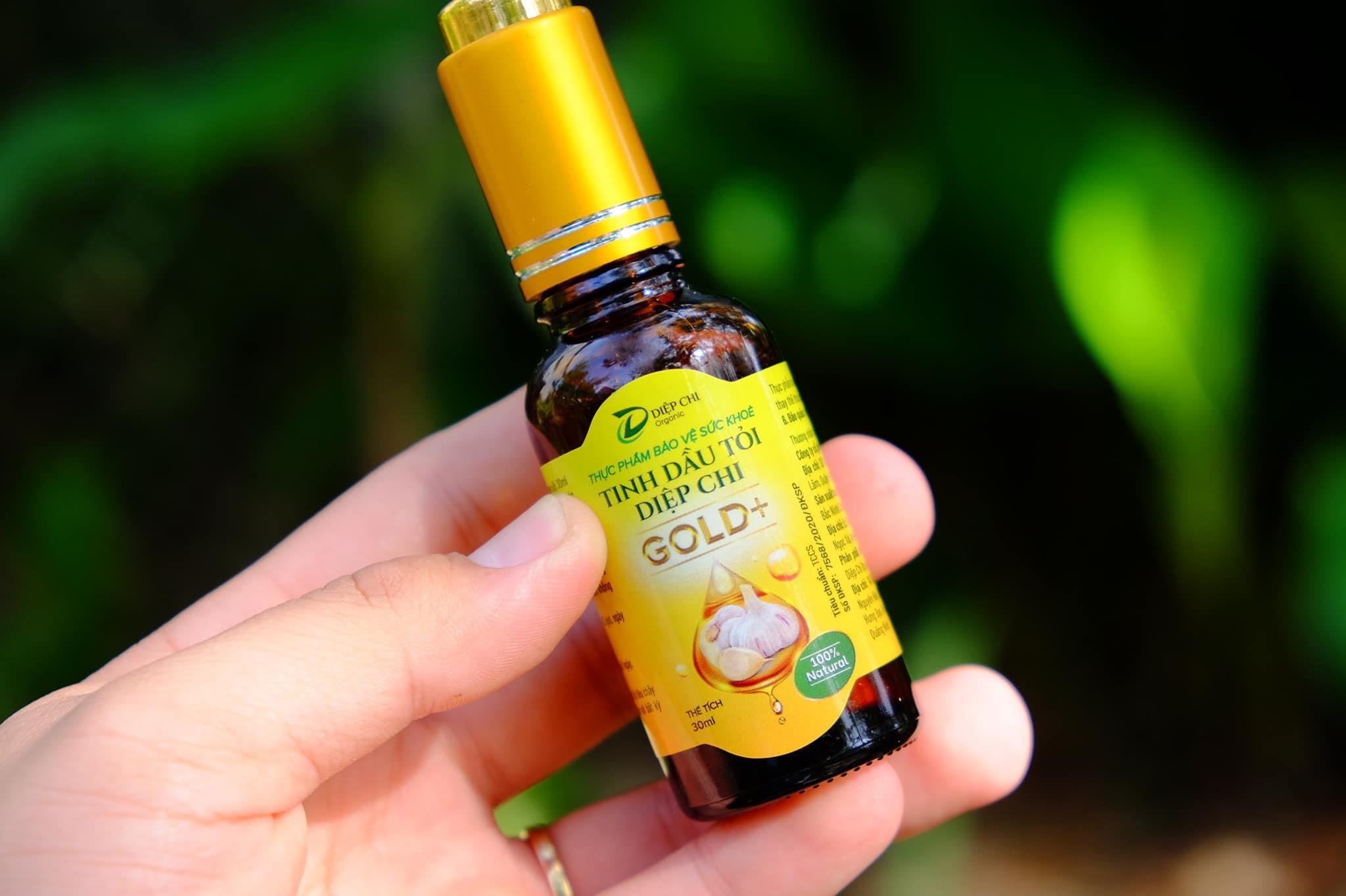 Tỏi và chiết xuất từ dầu tỏi hỗ trợ trẻ tăng đề kháng, góp phần phòng ốm vặt. Ảnh: Diệp Chi Organic.