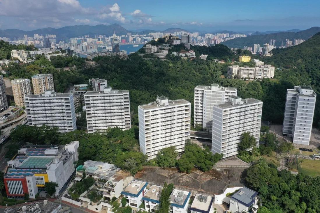 Một góc khu The Peak tại Hong Kong. Ảnh: SCMP.