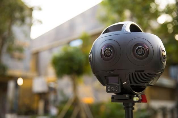 Camera Insta Titan 360 cho livestream có hình ảnh chân thực và sống động.