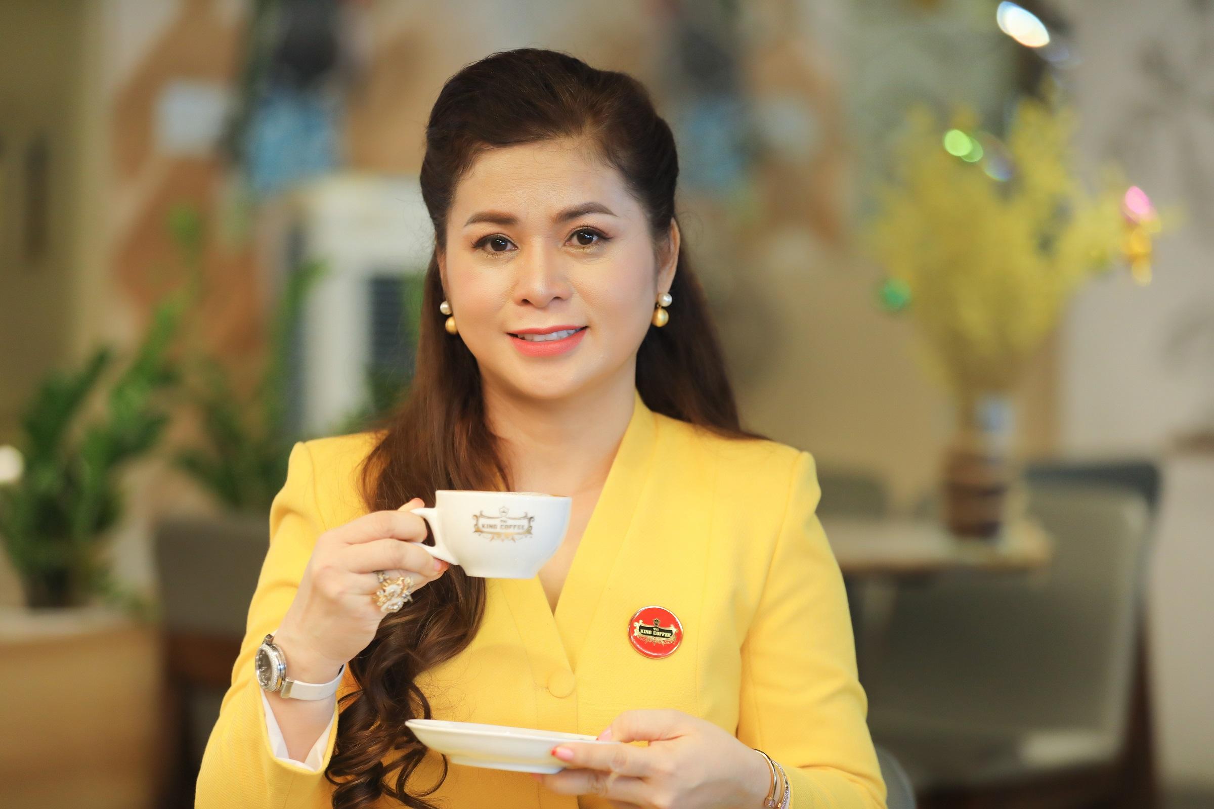 Bà Lê Hoàng Diệp Thảo - CEO King Coffee. Ảnh: Quỳnh Trần.