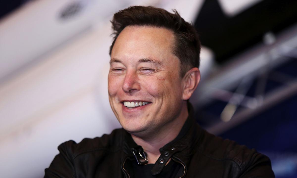 Tỷ phú Elon Musk. Ảnh: Bloomberg