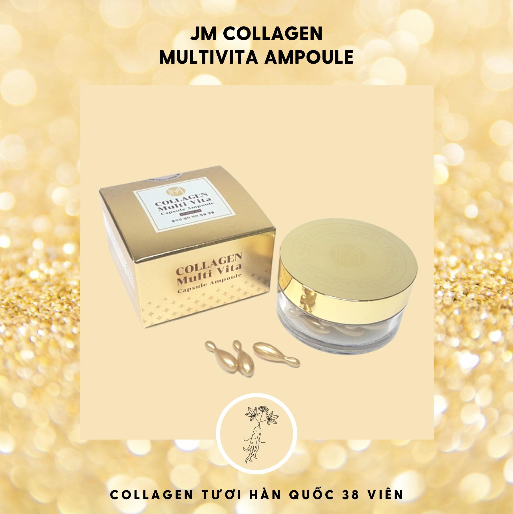 Sản phẩm JM Collagen Multivita Ampoule.