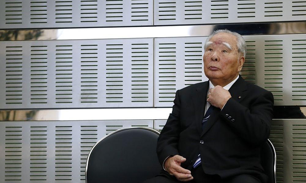 Ông Osamu Suzuki. Ảnh: Bloomberg