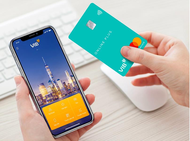 Thẻ tín dụng VIB góp phần thúc đẩy chi tiêu không tiền mặt. Ảnh: VIB.