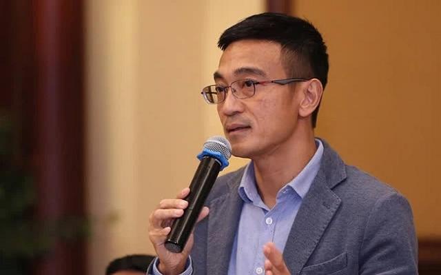 Ông Lê Hải Trà trong một lần trả lời báo chí gần đây. Ảnh: Quang Phúc.