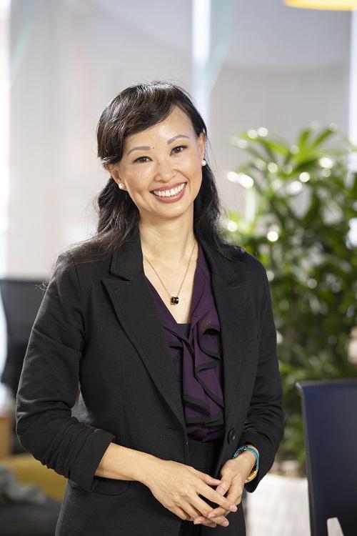 Nữ doanh nhân Thái Vân Linh.