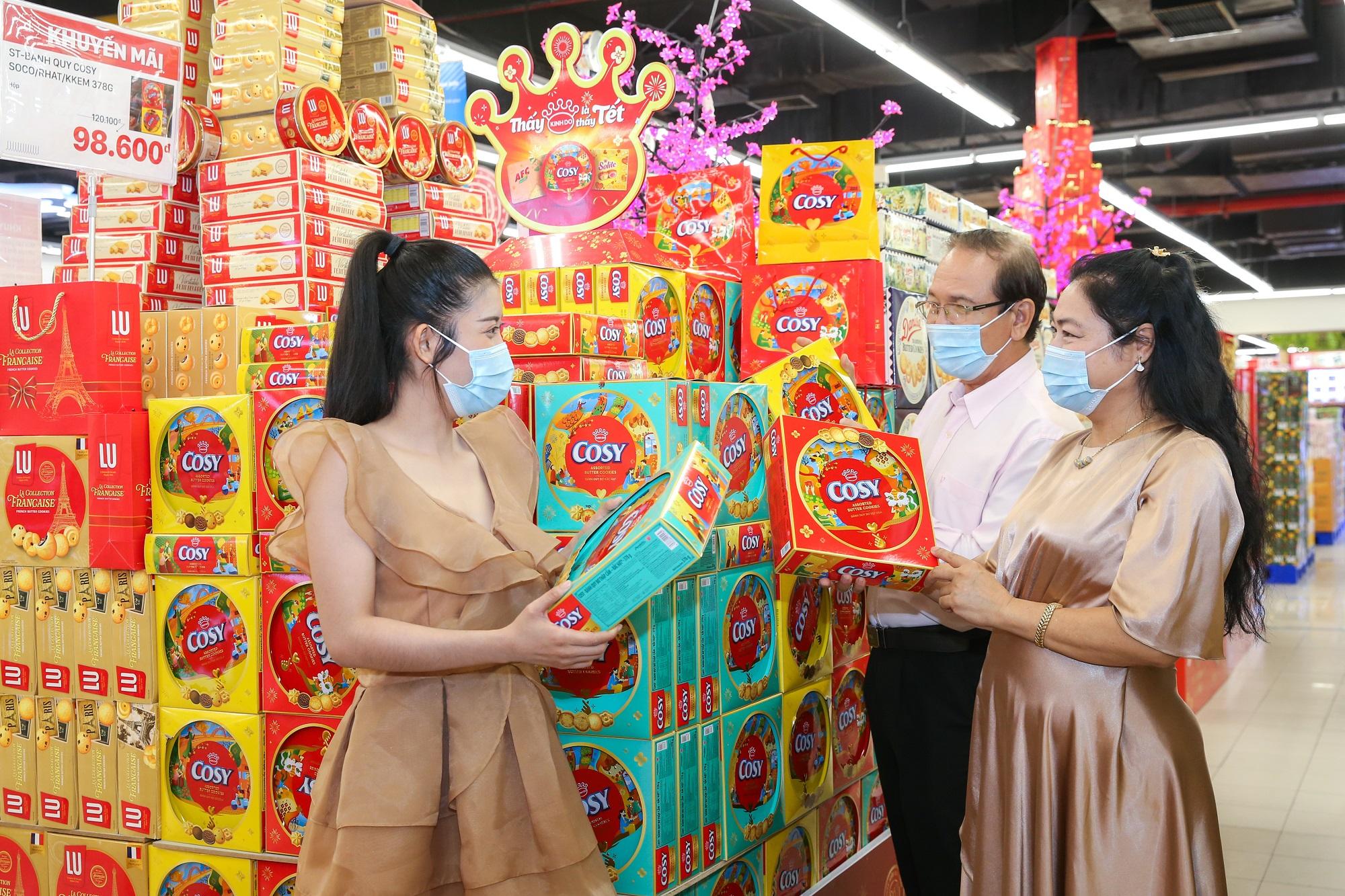 Nhiều người tiêu dùng đánh giá cao chất lượng sản phẩm mùa Tết của Mondelez Kinh Đô.