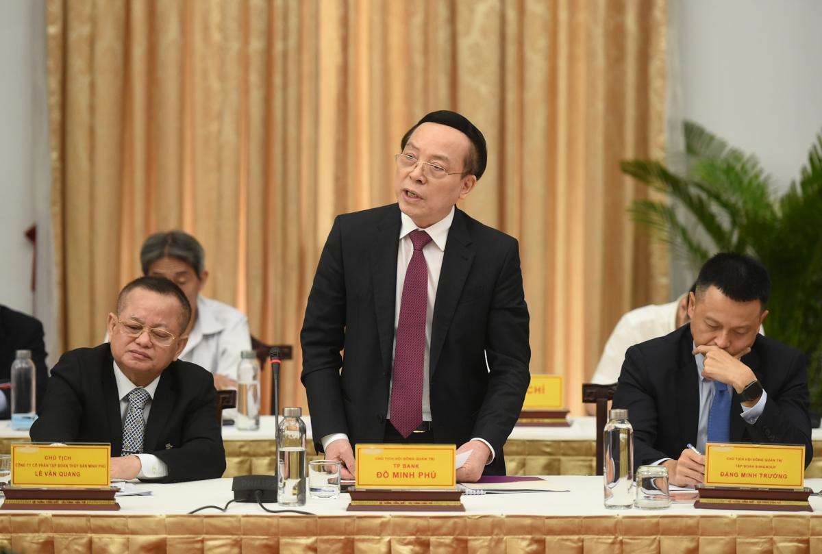 Ông Đỗ Minh Phú, Chủ tịch HĐQT TPBank. Ảnh: VGP.