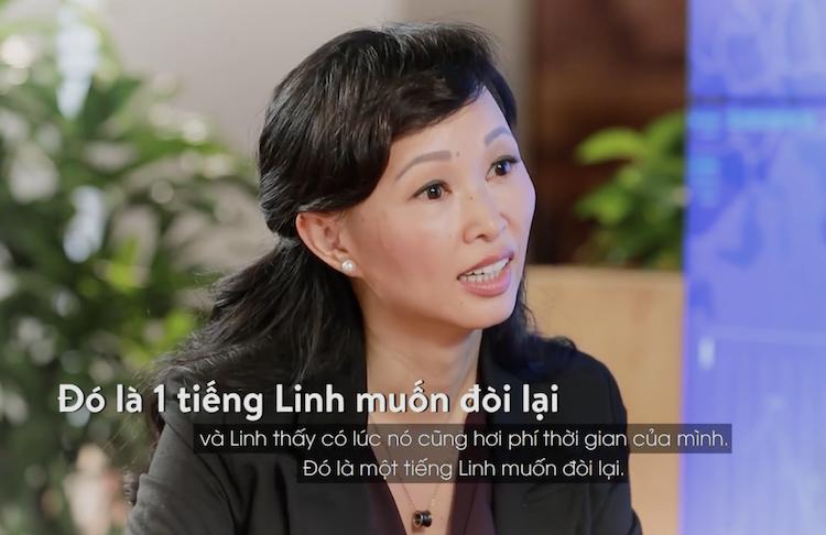 Shark Thái Vân Linh - nhà sáng lập và CEO TVL Group.