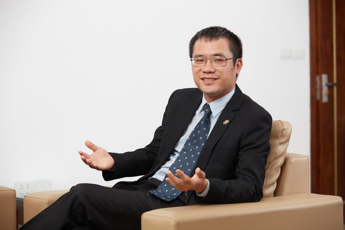 Ông Dương Dũng Triều, Chủ tịch Hội đồng thành viên Công ty Hệ thống thông tin FPT (FPT IS). Ảnh: FPT.