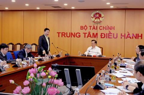 FPT làm việc cùng Bộ Tài chính chiều nay (9/3). Ảnh: Bộ Tài chính.