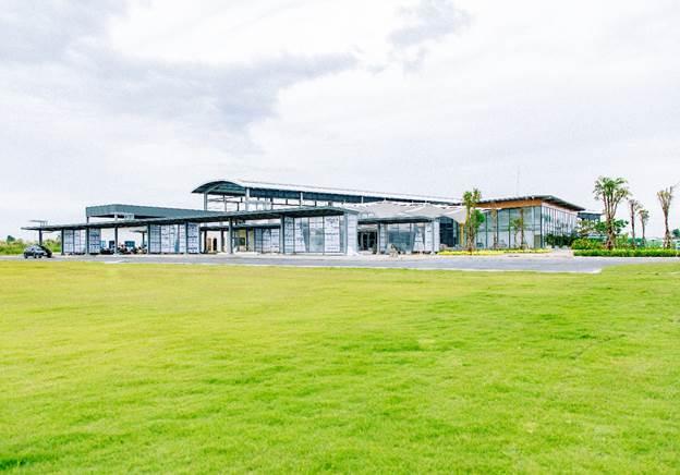 Khu Country Club của khu đô thị Waterpoint đã đi vào hoạt động.