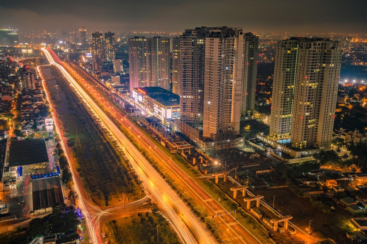Khu Đông tiếp tục dẫn dắt nguồn cung căn hộ cao cấp năm 2021. Ảnh: