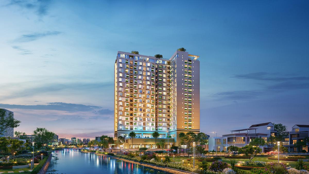 Dự án Happy One - Premier ở trung tâm Tân Sơn Nhất, cách sân bay 10 phút di chuyển.