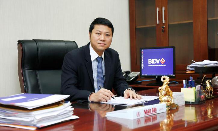 Tân tổng giám đốc BIDV, ông Trần Ngọc Lâm. Ảnh: BIDV.