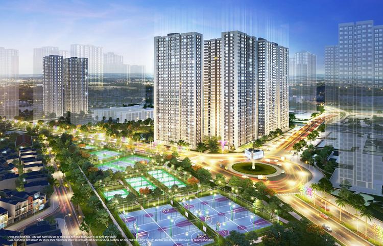 Phối cảnh dự án Vinhomes Smart City. Ảnh: Vinhomes.