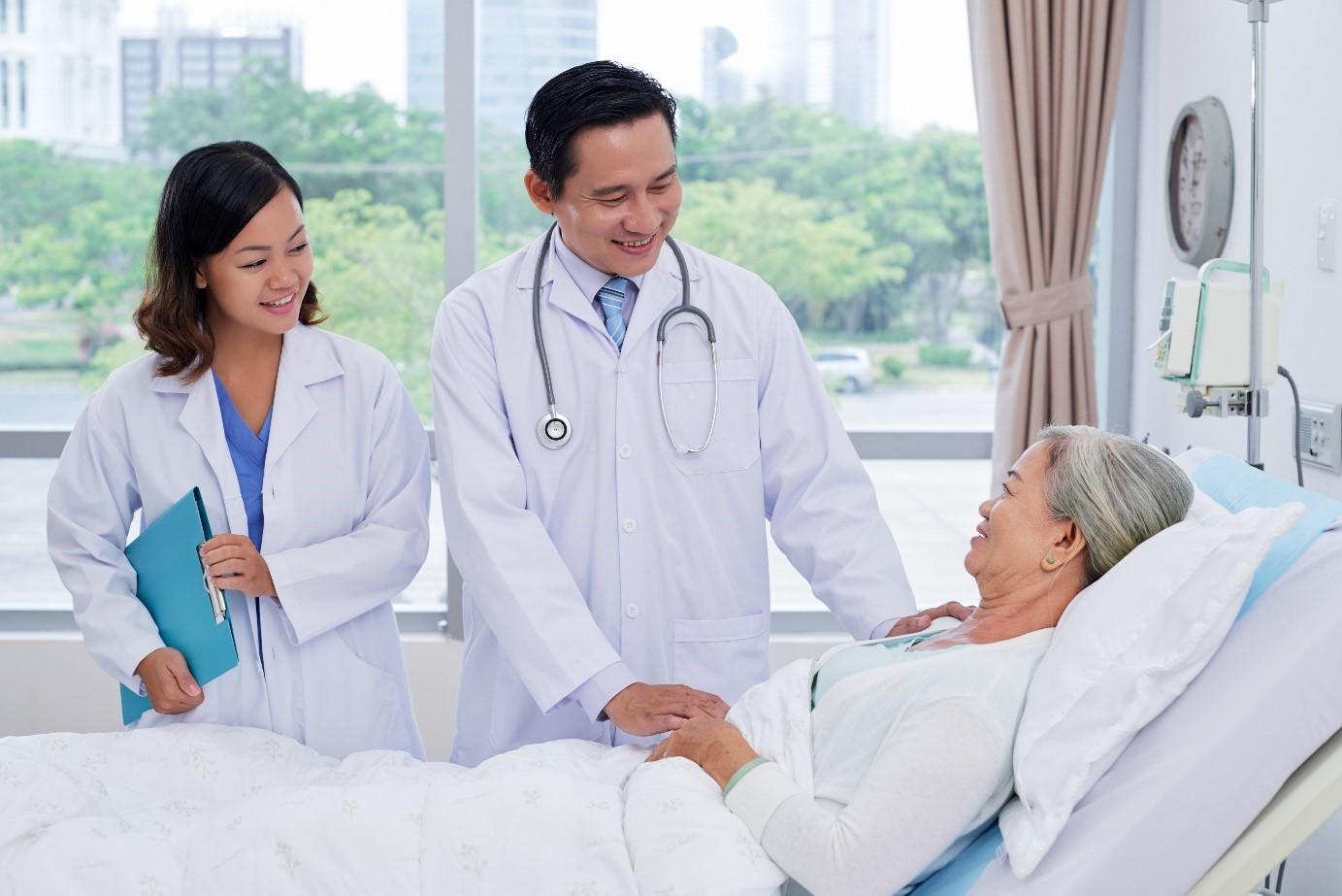 Đảo Phượng Hoàng còn ghi điểm với khách hàng với tiện ích chăm sóc sức khỏe hàng đầu Việt Nam. Ảnh: Novaland.