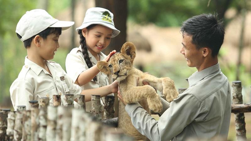 Vinpearl Safari Phú Quốc công viên chăm sóc và bảo tồn động vật hoang dã tại Phú Quốc United Center. Ảnh: Vingroup.