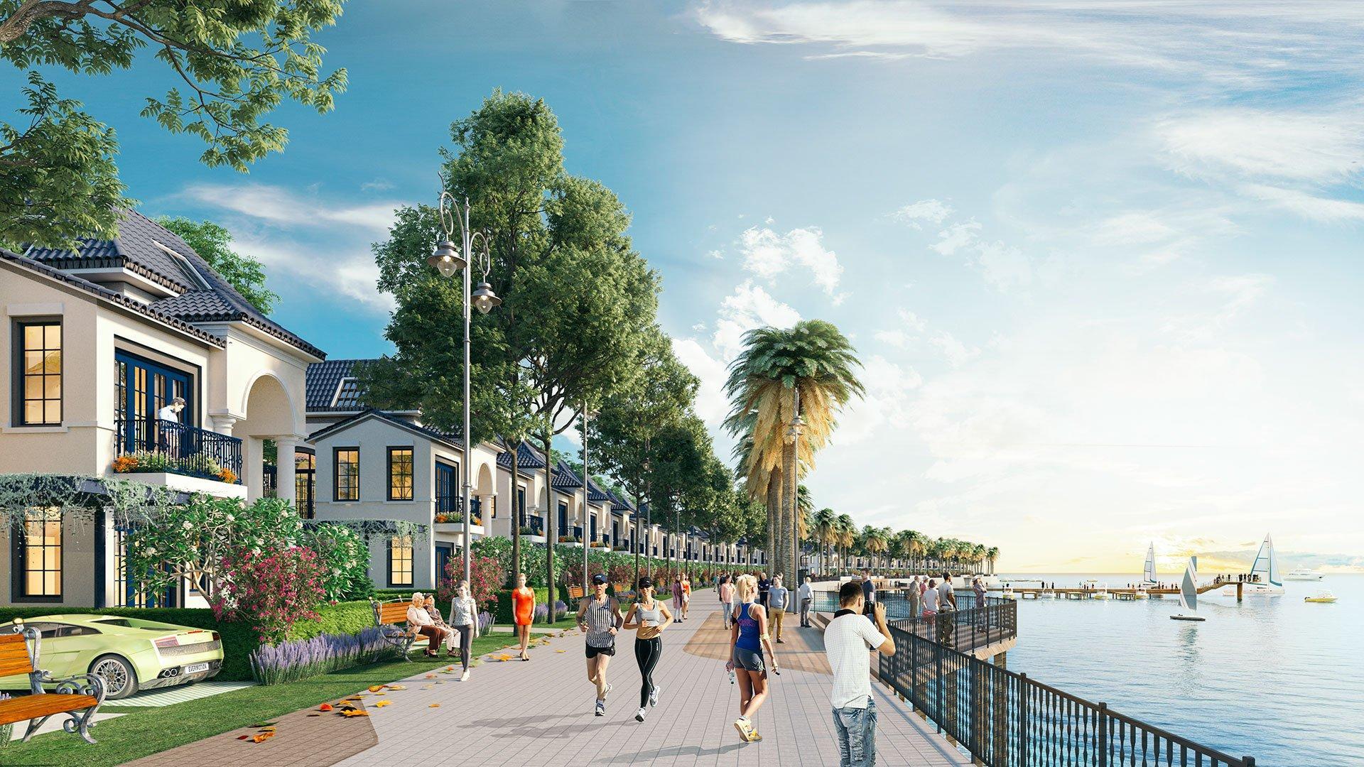 Bất động sản biển với tiện ích cao cấp ngay trung tâm TP Hà Tiên đang là đích đến của giới nhà giàu miền Tây.