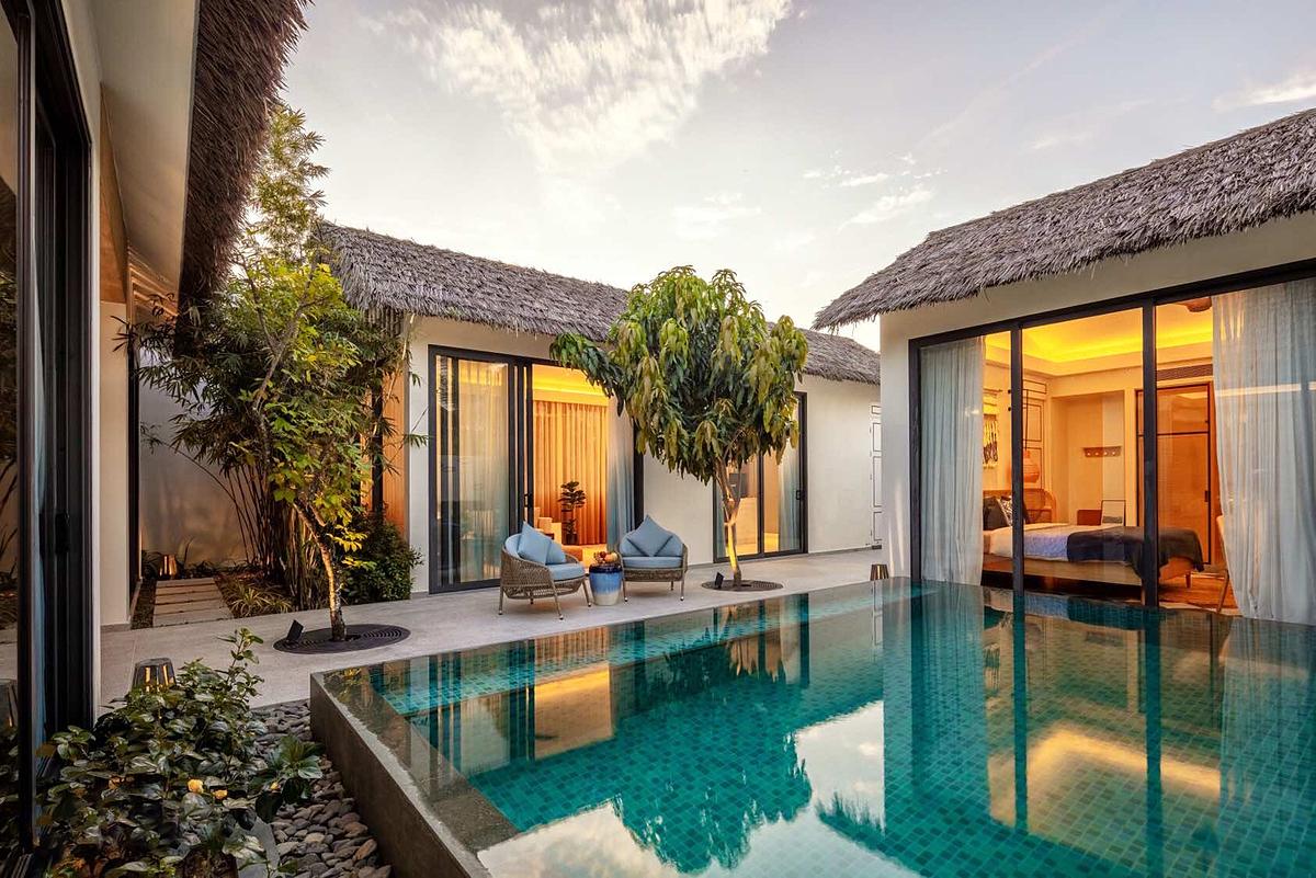 Thiết kế một căn biệt thự tại New World Phu Quoc Resort.