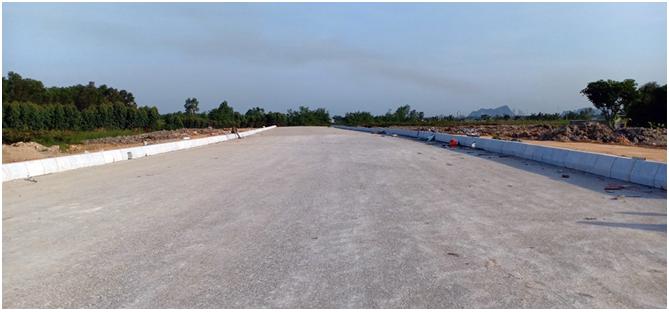 Dự án đường Trần Hưng Đạo kéo dài đấu nối với tuyến đường tránh phía Nam của TP Uông Bí hiện có 80% tuyến đường được thông tuyến. Khi hoàn thành sẽ tạo điều kiện phát triển cho kinh tế Uông Bí kết nối với các khu vực trọng điểm miền Bắc.