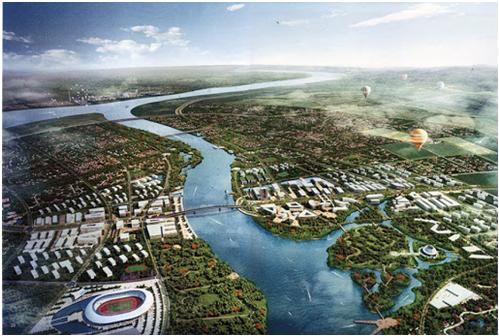 Phối cảnh khu kinh tế ven biển Uông Bí - Quảng Yên.