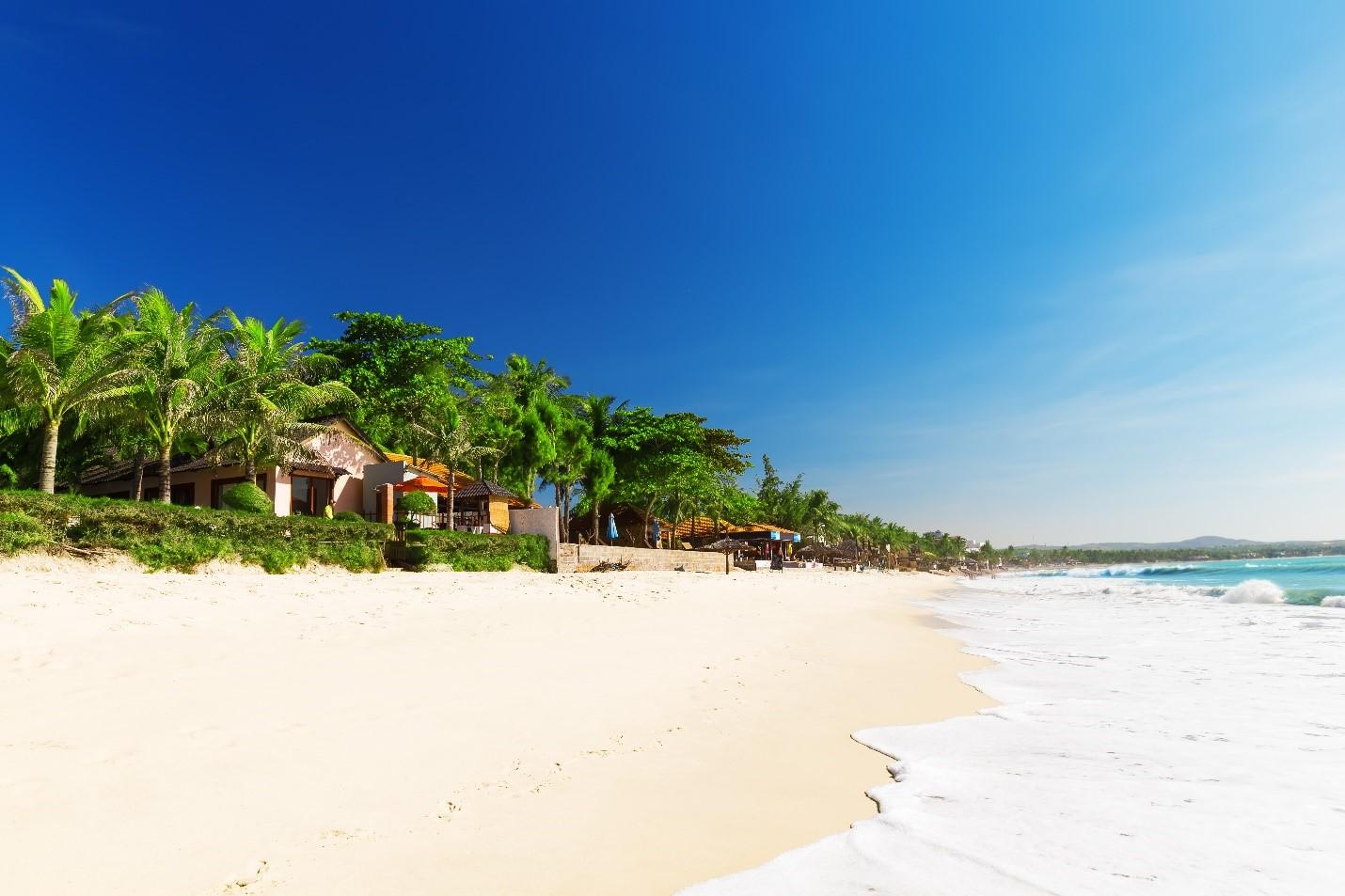 Với đầy đủ tiềm năng phát triển du lịch, Phan Thiết là một trong những thiên đường nghỉ dưỡng đặc sắc trong khu vực. Ảnh: Novaland.