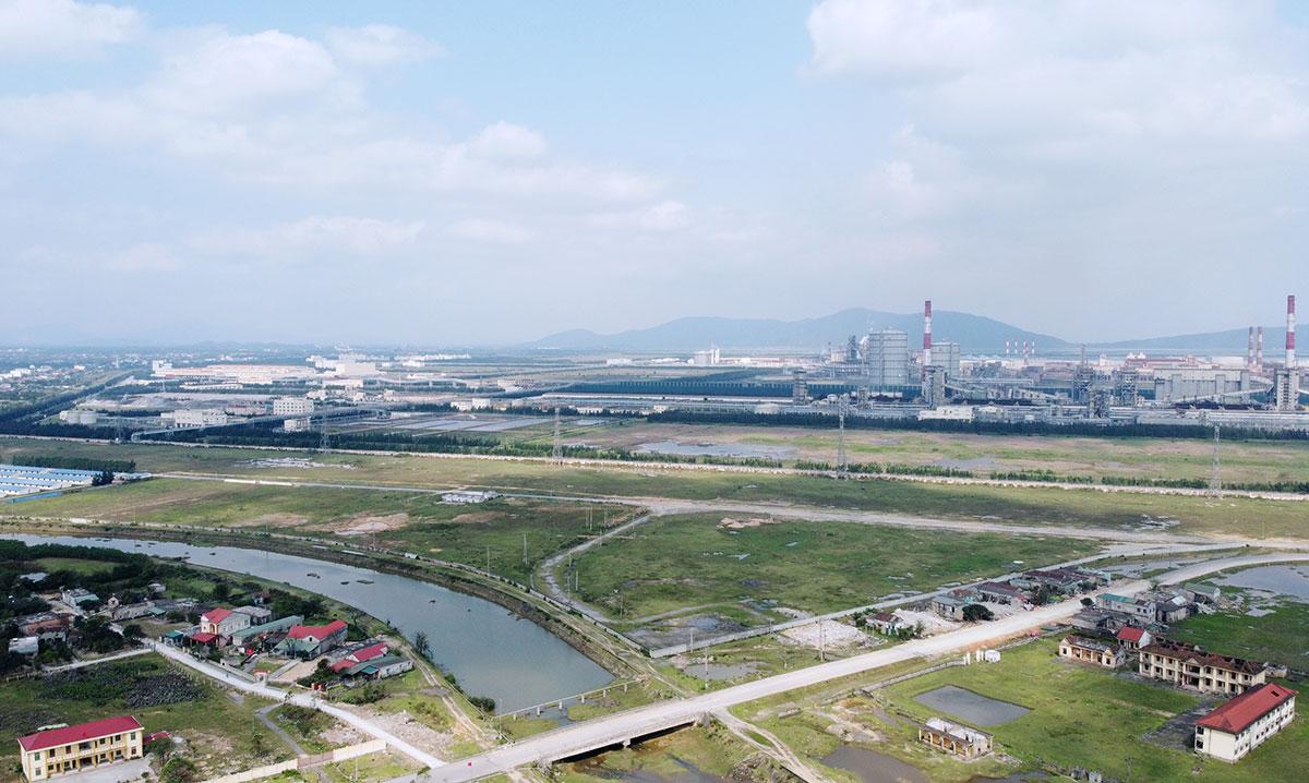 Một góc của dự án Formosa ở thị xã Kỳ Anh. Ảnh: Đức Hùng