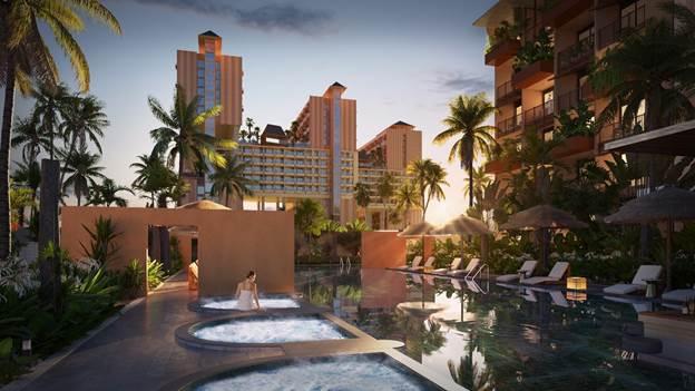 Apec Mandala Sky Villas Kim Bôi sở hữu mạch khoáng nóng tốt cho sức khỏe.