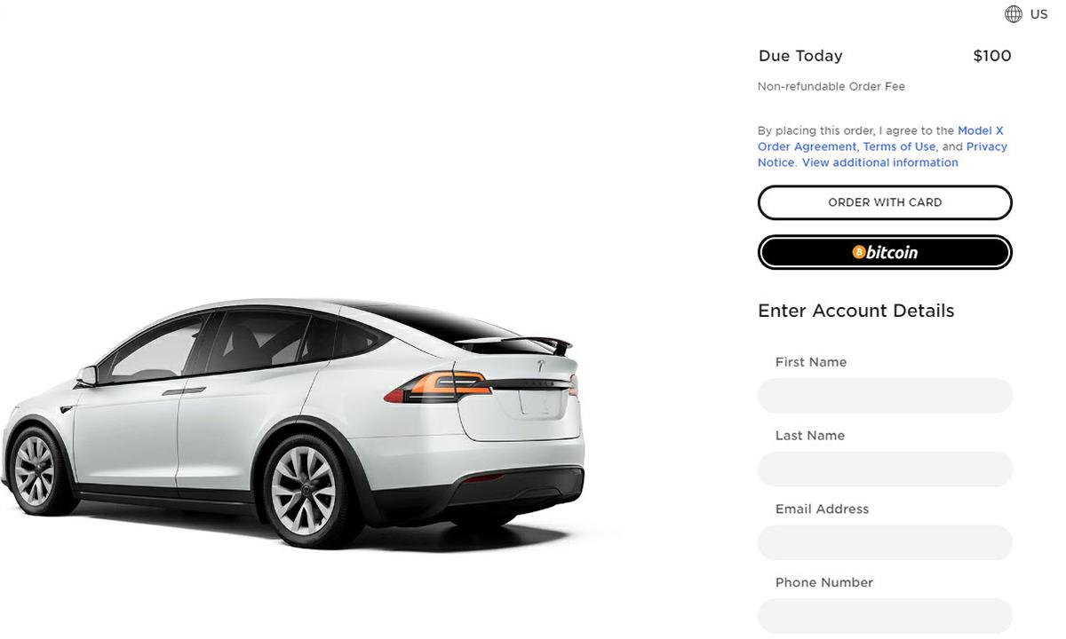 Tesla bắt đầu chấp nhận thanh toán bằng Bitcoin. Ảnh: Tesla