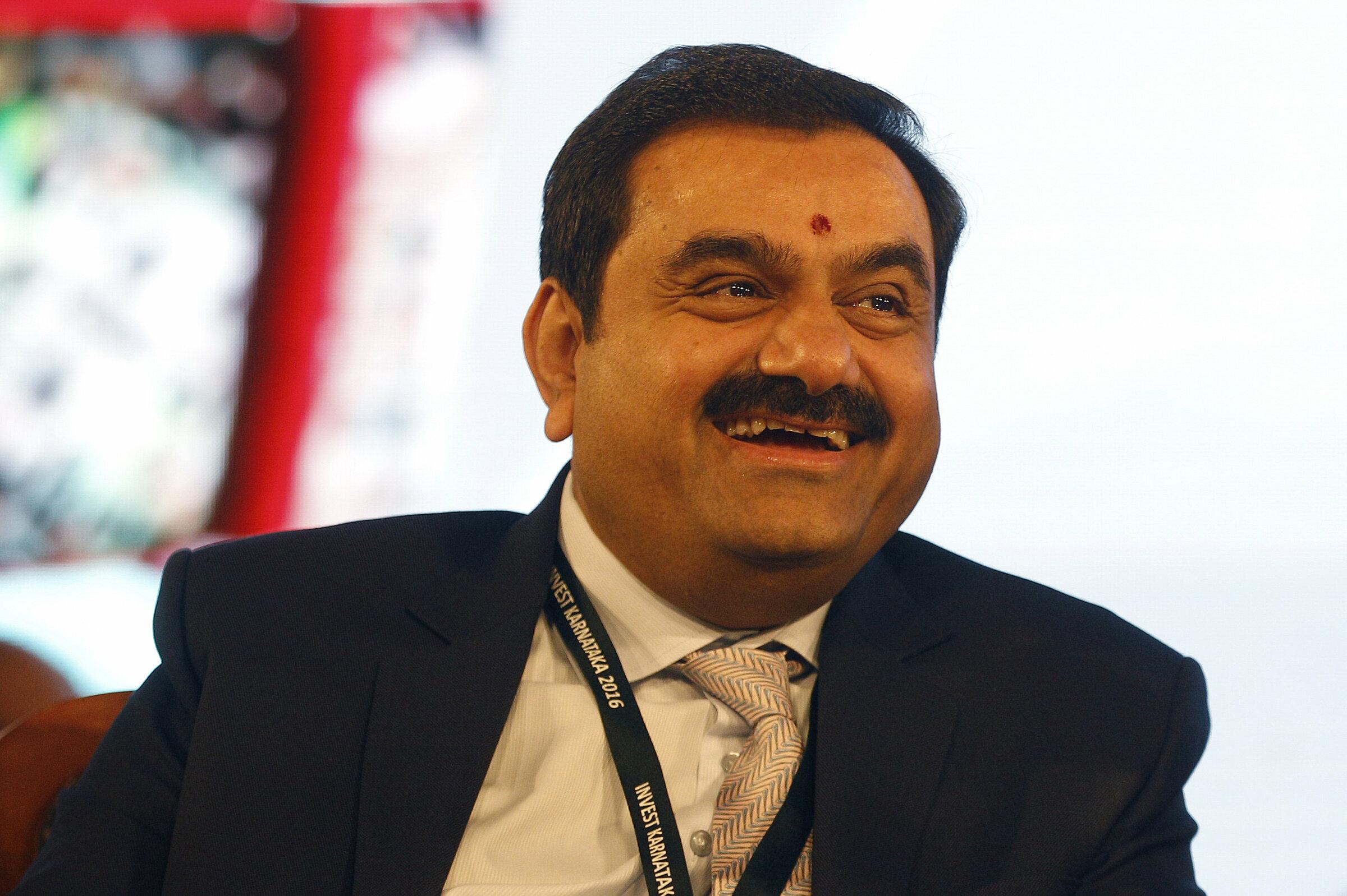 Tỷ phú Gautam Adani. Ảnh: AP.