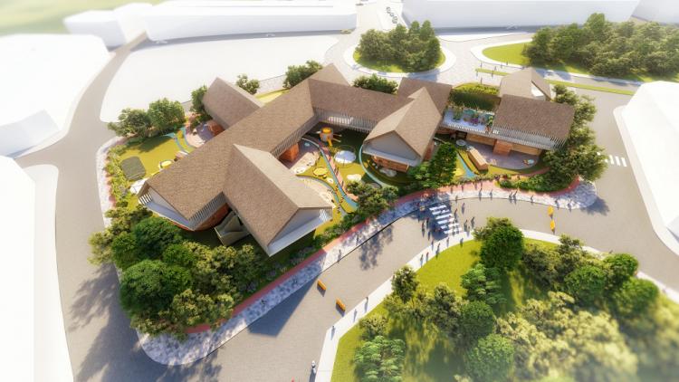 Dự án Thành phố Cà phê theo trường phái 'kiến trúc chữa lành'