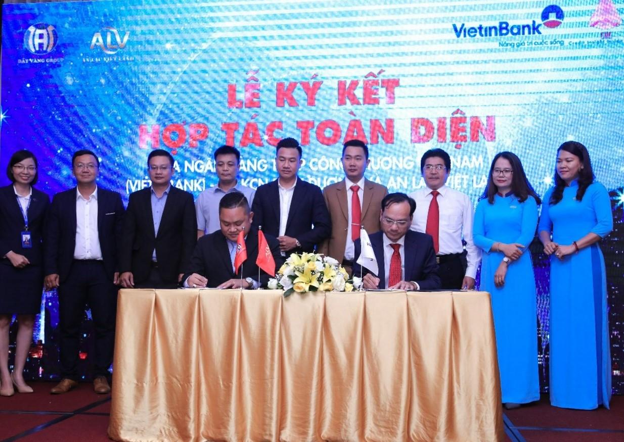 An Lạc Việt Land và VietinBank ký hợp tác toàn diện