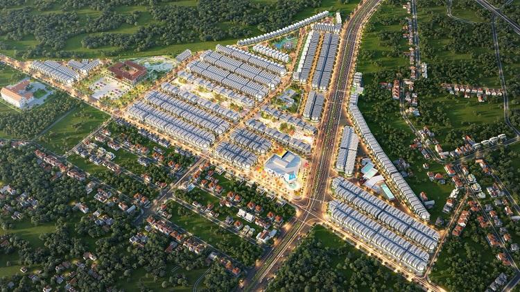 Khởi công xây dựng khu đô thị Diamond City - VnExpress Kinh doanh