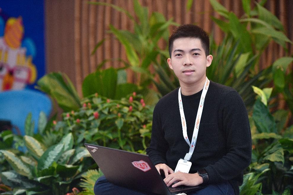 Huỳnh Anh Kiệt , nhân viên giải pháp bảo trợ Lazada Sponsored Solutions. Ảnh: Lazada.